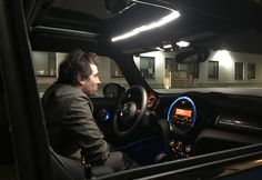 Cinematographer Christopher Lew used the LED strips inside our RoscoLED Tape Pro Gaffer Kit to illuminate actors inside the tight confines of a Mini Cooper.