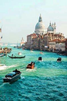 Venecia, Italia - Ciudad del Patrimonio Mundial