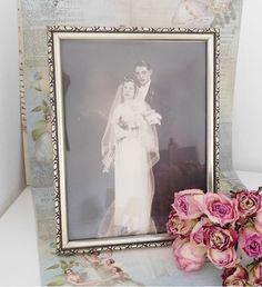 Vintage Bilderrahmen - Carl Friedrich & Emilia ♥ Uralte Photografie…