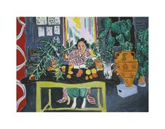 Henri Matisse,Interior with an Etruscan Vase c1940