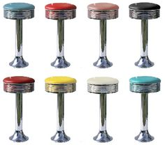 Soda Fountain Stool for future basement bar
