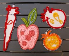 kids krafts .with food  | ... pictrues from Creative Jewish Mom . A fun craft to do with the kids