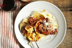 Jamie Oliver's Pappardelle With Beef Ragu