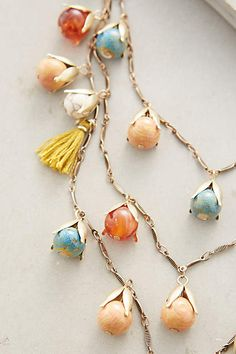 Rosebud Layer Necklace - anthropologie.com