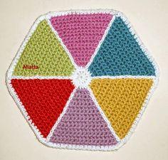 Crochet Kite - Χαρταετός http://e-crochet.blogspot.gr/p/my-shop.html