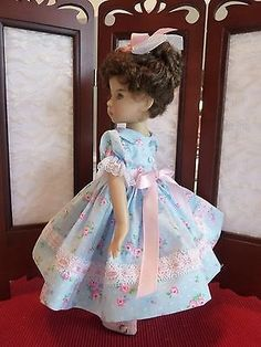 "Spring Fling Outfit for Effner 13"" Little Darling Doll by Apple"