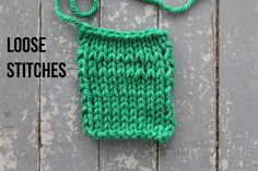 6 Hints for How to Knit Tighter Stitches