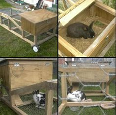 Rabbit hutch woodworking plans