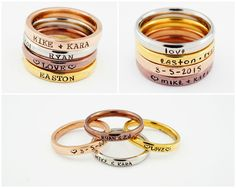 Hey, I found this really awesome Etsy listing at https://www.etsy.com/listing/252008386/mothers-rings-hand-stamped-ring