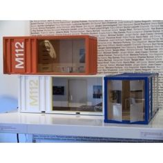 """20"""" M112 Pod - Elite Series 1. How cool instead of a traditional doll house. Needs to filled with mid century modern furniture."""