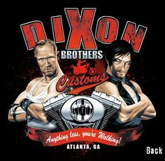 The Walking Dead: Dixon Brothers