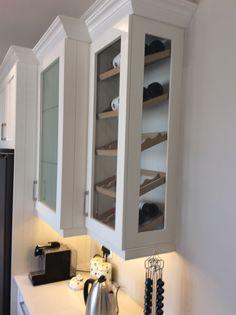 Hurlingham Kitchen-Custom Wine bottle display case
