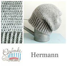 Tunella's Geschenkeallerlei präsentiert: das ist Hermann, eine geniale gehäkelte Haube/Mütze aus einer Alpaka/Wolle/Acryl-Mischung - du kannst dich warm anziehen, dank sorgfältigem Entwurf, liebevoller Handarbeit und deinem fantastischen Geschmack wirst du umwerfend aussehen #TunellasGeschenkeallerlei #Häkelei #drumherum #Beanie #Pudelhaube #Haube #Mütze #Alpaka #Wolle #Hermann