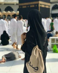 InshaAllah soon ❤ Arab Girls Hijab, Muslim Girls, Muslim Couples, Anime Muslim, Muslim Hijab, Hijabi Girl, Girl Hijab, Mecca Madinah, Mecca Kaaba