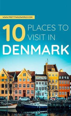 Planning a trip to Denmark soon? Check out this awesome guide on the best places to visit in Denmark including the when is the best time to visit Denmark, how to travel to Denmark, where to stay in Denmark, how to get around Denmark, wh Top Travel Destinations, Europe Travel Tips, European Travel, Travel Guides, Travel Goals, Travel Info, Traveling Tips, Backpacking Tips, Cheap Travel