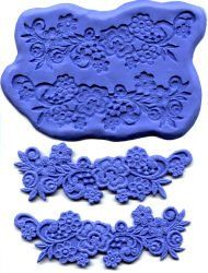 Flower With Scrolls Lace Mold Set: Amazon.com: Kitchen & Dining