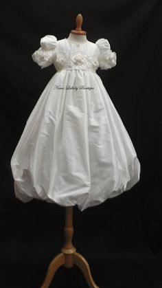 f3af53182 Christening Gowns Girls, Baptism Gown, Girls Dresses, Baptism Dress, Christening  Gown