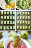 === Ingredience === 1 čerstvá brokolice 2 vajíčka 1 menší cibule 15 dkg sýru čedar 2/3 hrnku dobré strouhanky (panko, italská) 2 lžíce petržele sůl a pepř  === Příprava === Troubu předehřejte na 200 °C. Brokolici si pomocí mixéru rozsekejte na drobné kousky a smíchejte se zbylými pokrájenými ingredincemi. Propracujte do konzistence těsta a tvarujte na pačící papír stejně velké válečky.  Pečte cca 20 minut do zlatova.  Namáčejte potom do oblíbené omáčky. Rajčatové salsy, kečupu nebo mě to chut... Baked Potato, Salsa, Potatoes, Baking, Ethnic Recipes, Food, Diet, Potato, Bakken