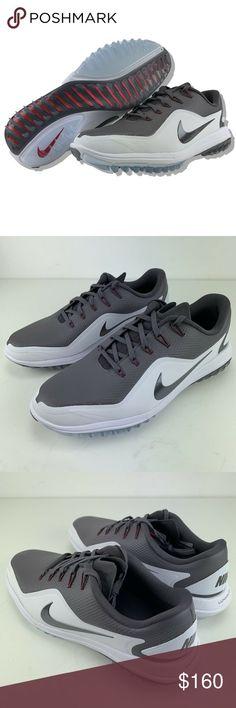 low priced 374af 6e6b3 Awesome Nike Golf Shoes Nike Golf Shoes 10 Mens Lunar Control Vapor 2  Lunarlon Grey Whit