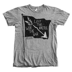BATTLE FLAG T SHIRT