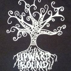 This is the Upward Bound shirt designed by an upward bound student.