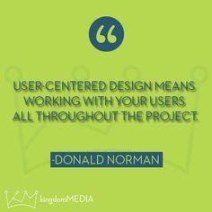User-Centered design...
