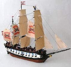 69 Lego Old Ships Ideas – How to build it Lego Pirate Ship, Lego Ship, Pirate Ships, Legos, Homemade Pirate Costumes, Lego Age, Lego Boat, Pirate Theme, Pirate Birthday