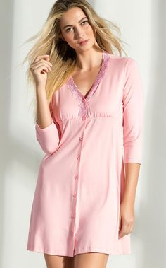 Night Suit, Night Gown, Lingerie Sleepwear, Nightwear, Pijamas Women, How To Dress A Bed, Sewing Lingerie, Maternity Fashion, Everyday Outfits
