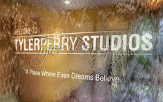 Tyler Perry Studio's is a 200,000 square foot Studio, located in Southwest Atlanta, consisting of 5 sound stages, a post-production facility, a back lot, a 400-seat theater, a private screening room, and designated areas for entertaining and hosting events.