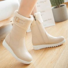 Fashion women boots for comfort and fit. A general use boot, perfect for everyth. - Fashion women boots for comfort and fit. A general use boot, perfect for everyth… Fashion Damens - Boots Cowboy, Fashion Boots, Sneakers Fashion, Dr Shoes, Kawaii Shoes, Sneakers Mode, Fancy Shoes, Cute Heels, Winter Shoes