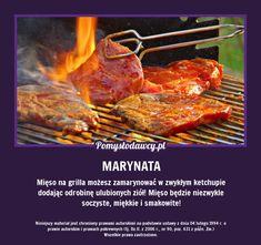 NAJŁATWIEJSZA MARYNATA DO MIĘSA NA GRILLA, KTÓREJ NIE ZNASZ! Grilling, Picnic, Bbq, Food And Drink, Cooking Recipes, Meat, Party, Recipes, Cooking