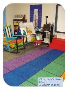 Classroom Crashers:: A Modern Teacher: Kindergarten room