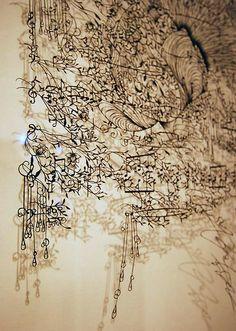 切り絵アート 蒼山日菜: France-based Japanese artist Hina Aoyama is passionate about creating lacy-paper cuttings using the very time-consuming technique.