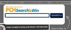 What do You search for at PCHSearch&Win?