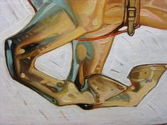 Detail of J.C. Leyendecker's work. Note the amazing brush strokes and use of so many different shades of color. Gorgeous technique.