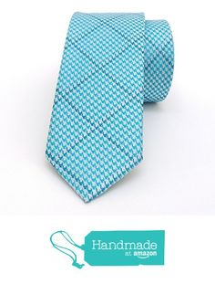 "Cyan, grey, blue striped men's tie 6 cm (2,36"") DK-442 from Nazo Design https://www.amazon.com/dp/B01FN3PUTY/ref=hnd_sw_r_pi_dp_kaL5xbEFJ3FFQ  #handmadeatamazon #nazodesign"
