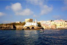 Ventotene Island, in the Pontine sea.