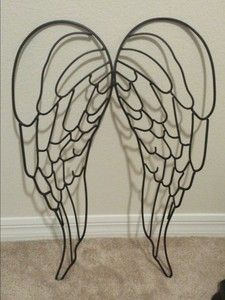 Iron Angel Wings Wall Decor | eBay