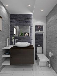 26 Splendid Small Bathroom Remodel Ideas For You « Bathroom Vanity Designs, Modern Bathroom Tile, Bathroom Design Luxury, Modern Bathroom Design, Small Bathroom, Washbasin Design, Hotel Room Design, Toilet Design, Amazing Bathrooms