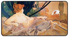 Dawn by Alphonse Mucha