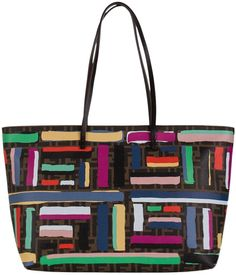 d52ccd0126f1 Fendi Chalks Print Roll Multicolored Tote Bag. Get one of the hottest  styles of the