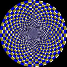 This is actually a still image, not a GIF. | 22 Optical Illusion GIFs That Will Make You Feel High