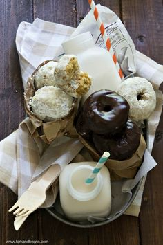 Gluten-Free Vegan Donuts - Use coconut oil instead of vegetable oil.