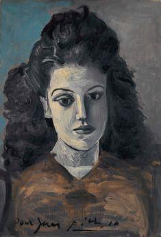 Pablo Picasso - Ines, 1942