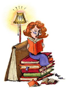The Book Lover by maralina!, via Flickr