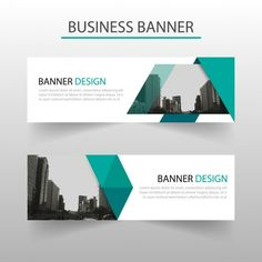 Abstract blue banner with geometric shapes Free Vector Web Design Tutorial, Web Design Tips, Ad Design, Cover Design, Banner Design Inspiration, Web Banner Design, Web Banners, Online Web Design, Website Design Layout