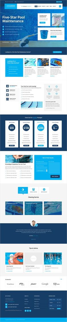 ABC Garden is beautifully design premium #WordPress theme for multipurpose #pool maintenance #service #website with 10+ different homepage layouts download now➩ https://themeforest.net/item/abc-garden-gardening-shop-landscape-maintenance-pool-cleaning-repair-event-venues-service/17625803?ref=Datasata