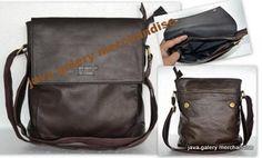 tas slempang kulit lemes TKLM01,tas kulit lemes,tas kulit sapi,tas pria wanita,tas kantor ,tas tablet  Rp 460.000