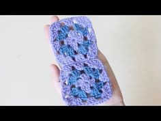 Crochet for beginners : Easy way to join granny squares using slip stitch method - YouTube
