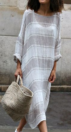 Linen Dress MegbyDesign